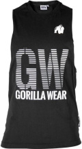 Футболка Gorilla Wear Dakota Sleeveless T-Shirt черная L